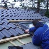 Tile roofs and interior finish